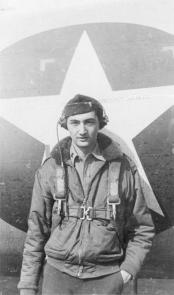 Howard Zinn in the military during World War II.